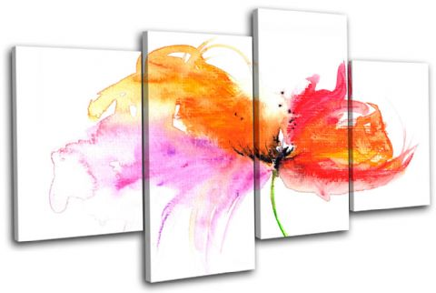 Painting Style Floral - 13-1028(00B)-MP04-LO